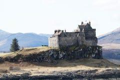 Den Duart slotten, ö av funderar Arkivbilder