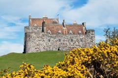 Den Duart slotten, ö av funderar Arkivbild