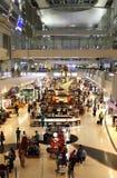 Den Dubai International flygplatsen är ett viktigt flygnav i Midden Fotografering för Bildbyråer