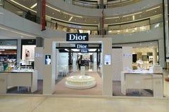 Den Dubai Mal linterioren Royaltyfri Bild