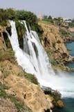 Den Duden vattenfallet, TÃ-¼rkai Antalya royaltyfria bilder