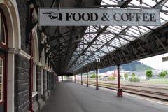 Den Dunedin järnvägen posterar arkivfoto