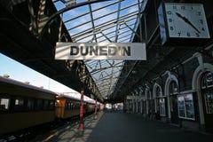 Den Dunedin järnvägen posterar Royaltyfri Bild