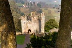 Det Dunster slottet hyr Hall Somerset England Arkivbilder