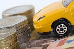den dyra bilen får egen Fotografering för Bildbyråer