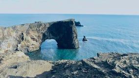 Den Dyrhà ³laeyen är en 120 meter hög udde arkivbilder