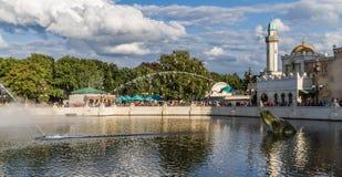 Den Efteling - Aquanura watershowen Royaltyfri Foto