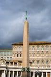 Den egyptiska obelisken, Vaticanen Royaltyfri Foto