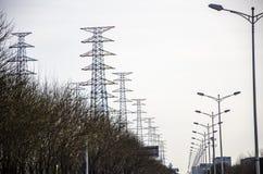 Den elektriska energin Arkivfoton