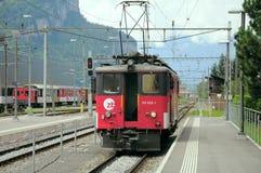 Den elektriska lokomotivet Royaltyfria Foton