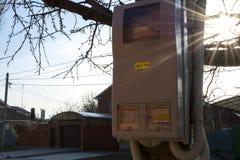 Den elektriska skölden Arkivfoton