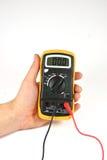 Elektrisk tester Fotografering för Bildbyråer