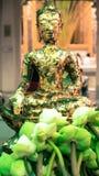 Den Emerald Buddha templet (Wat phrakaew) och kunglig storslagen slott Arkivbilder