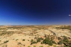 Den en Miljon-dollar vägen från stenblocket till Escalante, USA Royaltyfri Fotografi