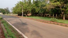 Den en vägvägen arkivbild