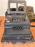 Den Enigma nollamaskinen från världskrig II royaltyfria bilder