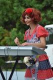 den enorma buskersfestivalen turnerar världen royaltyfri bild