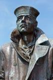 Den ensamma sjömannen Statue Arkivbild