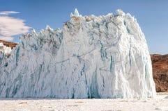 Den Eqi Sermia glaciären Royaltyfri Fotografi