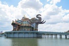 Den erawan elefanten Arkivbild