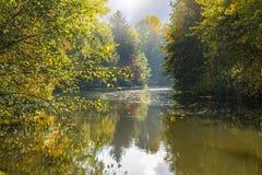 Den Erft floden Arkivbild
