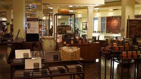 Den Ethel M Chocolate fabriken shoppar arkivfoto