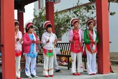 Den etniska minoriteten Fotografering för Bildbyråer