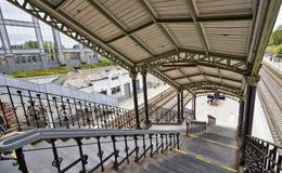 Den Etterbeek stationen i denhuvudstad regionen Fotografering för Bildbyråer