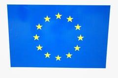 Den europeiska unionen (EU) är enekonomisk union av membe 28 Arkivbilder