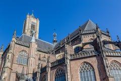 Den Eusebius kyrkan i Arnhem i Nederländerna Arkivfoto
