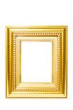 den extra illustratören för guld för ramen för Adobeeps-formatet inkluderar Arkivbilder