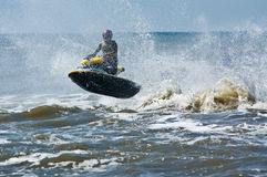 den extrema strålen skidar watersports Arkivfoton