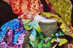 Den färga torkduken Royaltyfri Foto