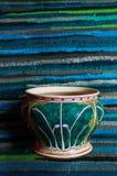 Den färgglade kålmodellen målade Kina ware, kinesiskt porslin royaltyfria foton