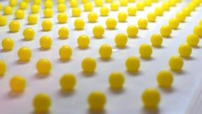 Den färgrika polkaen pricker Fotografering för Bildbyråer