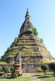 Den fördämning i Vientiane, Laos Royaltyfria Bilder