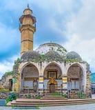 Den förfallna moskén i Tiberias royaltyfria bilder