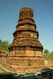 Den förstörda pagoden Arkivfoton