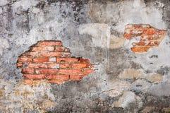 Den förstörda väggen Royaltyfria Bilder