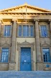 Den f?rsta all-flickor skolan av Cypern, Faneromeni skola royaltyfri fotografi