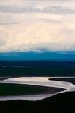 Den första jätte- uen-turn av den gula floden Royaltyfri Bild