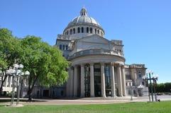 Den första kyrkan av Kristusforskaren i Boston Arkivfoto