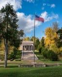 Den första Lincoln Memorial Arkivfoto