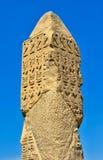 den första obelisken och av Luxoren Royaltyfria Bilder