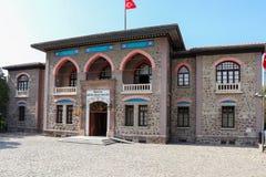 Den första parlamentbyggnaden av Republiken Turkiet Royaltyfria Foton