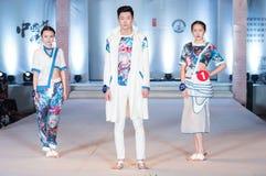 Den första serien av Shang Gu-Fashion Show Fotografering för Bildbyråer