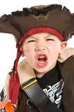 den förtjusande pojkedräkten piratkopierar Royaltyfria Bilder