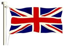 Den fackliga flaggan Royaltyfria Bilder