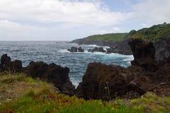 Den Faial ön, Azores, Portugal Arkivfoton
