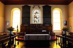 Den Falmouth församlingkyrkan av St Peter aposteln - Falmouth, Jamaica Fotografering för Bildbyråer